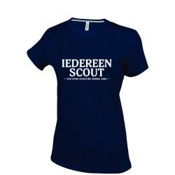 T-Shirt KM Iedereen Scout - dames - XL