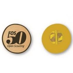 Pin 50 jaar FOS Open Scouting
