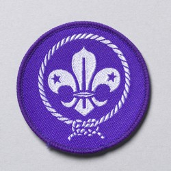WOSM badge groot