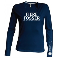 T-Shirt LS Fierre Fosser - dames - XL