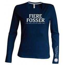 T-Shirt LS Fierre Fosser - dames - XXL