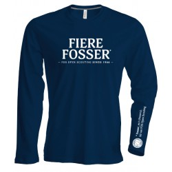 T-Shirt LS Fierre Fosser - kids 7-8